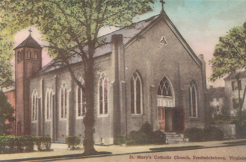 St. Mary Catholic Church, Princess Anne Street