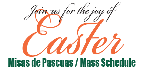 2014 Easter Mass Schedule