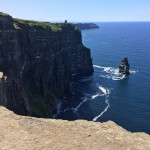 Last week at the Cliffs of Moher in Ireland.